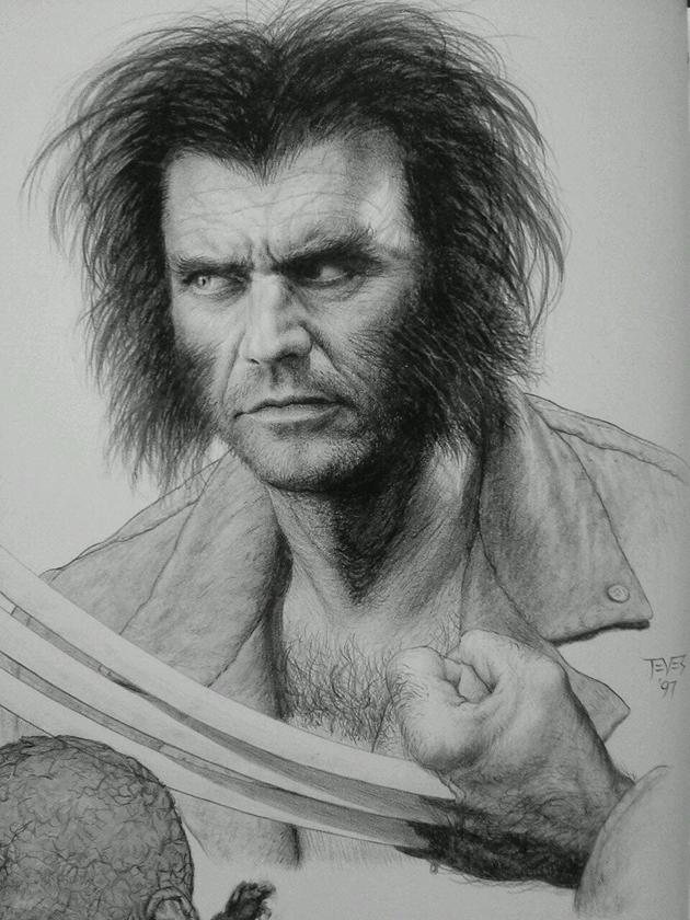Mel Gibson-Wolverine