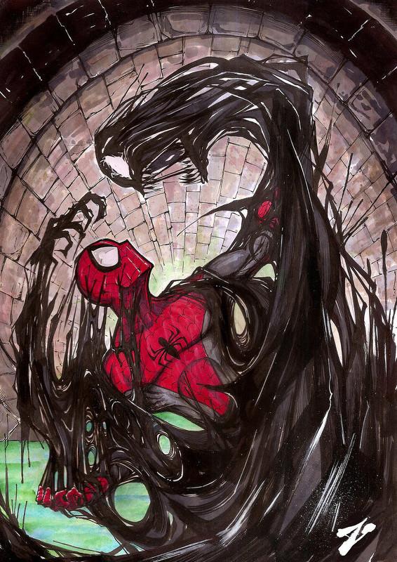 Spider-Man-Venom-Zuleta Miguel