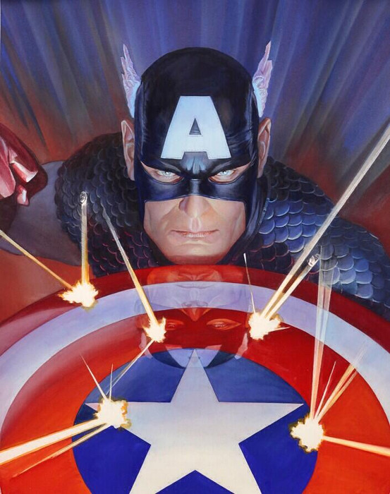 Captain America-Alex Ross