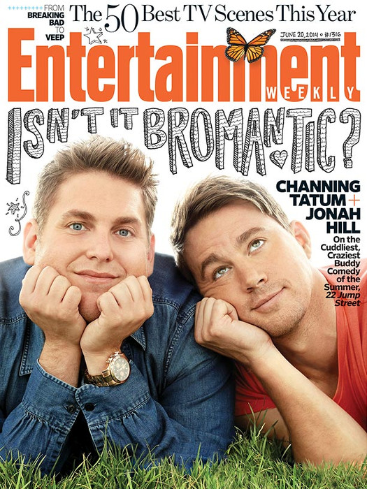 Channing tatum-Jonah Hill-Entertainment Weekly