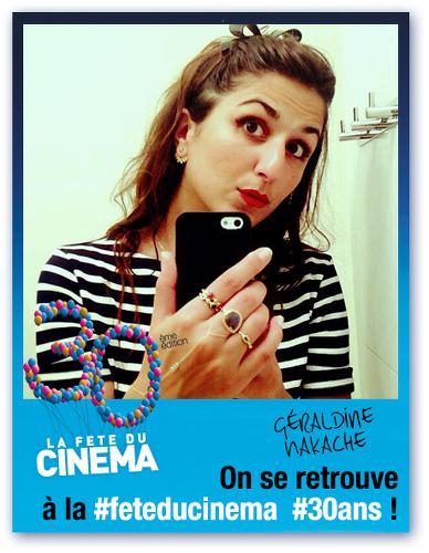 Géraldine Nakache-fête du cinéma