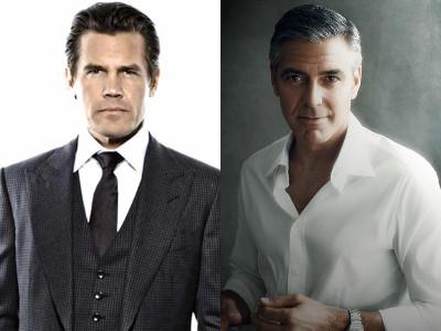 Josh Brolin-George Clooney