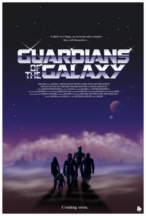 Les Gardiens de la Galaxie-Rodolfo Reyes