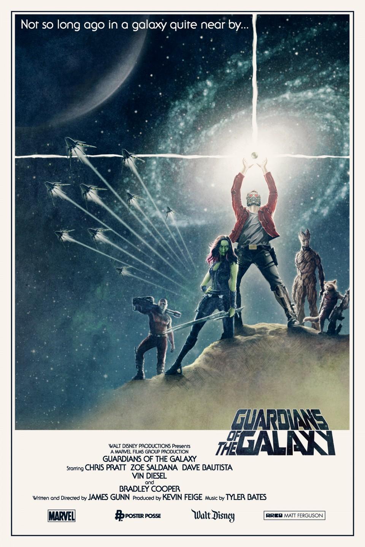 Les Gardiens de la galaxie-Star Wars-Matt Ferguson