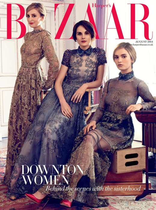 Downton Abbey-Harper's Bazaar1