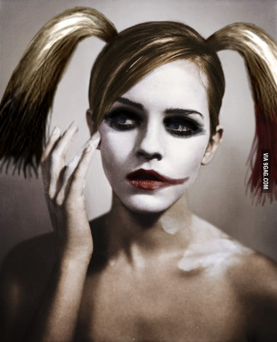 Emma Watson-Harley Quinn