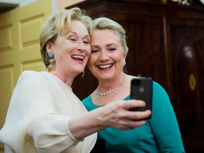Hilary Clinton-Meryl Streep