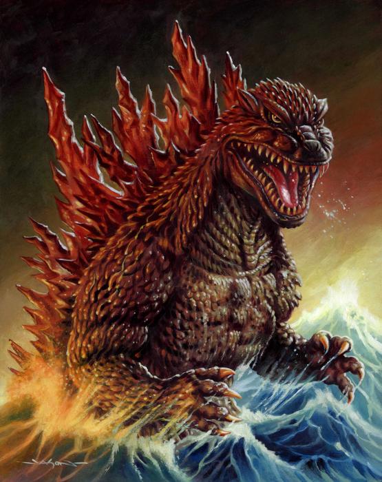 Jason Edmiston-Godzilla