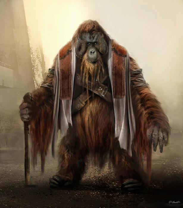 La planète des singes-Concept Art2