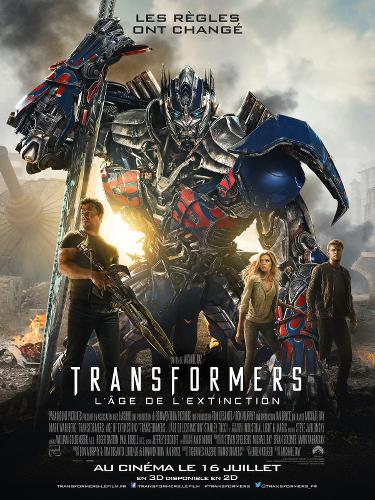 Transformers-l'âge de l'extinction