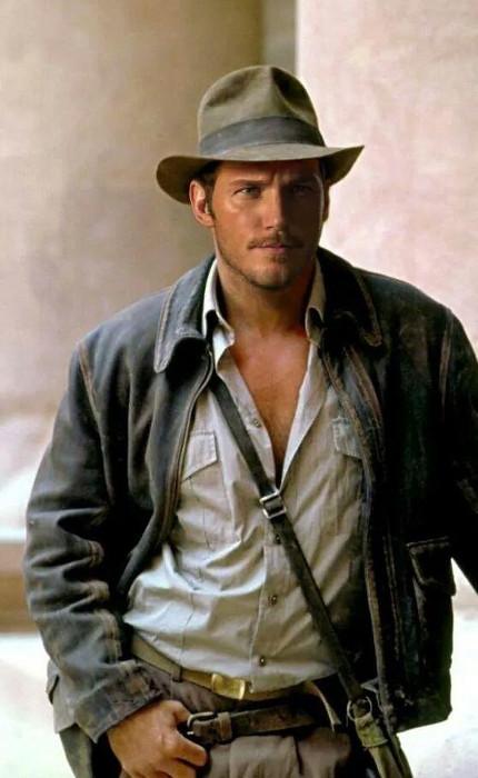 Chris Pratt-Indiana Jones