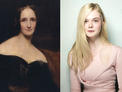 Elle Fanning-Mary Shelley