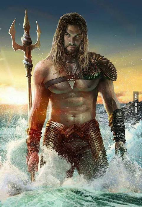 Aquaman-Jason Momoa-Fan Art