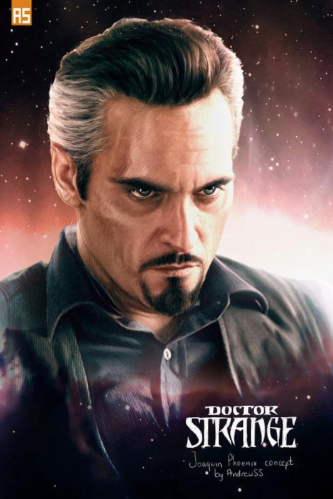 Joaquin Phoenix-Doctor Strange-fan Art