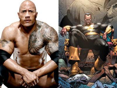dwayne johnson-Black adam