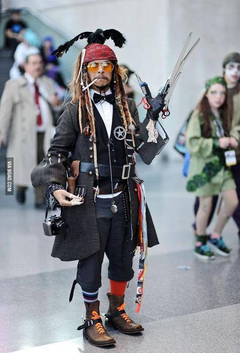 Johnny Depp-Cosplay