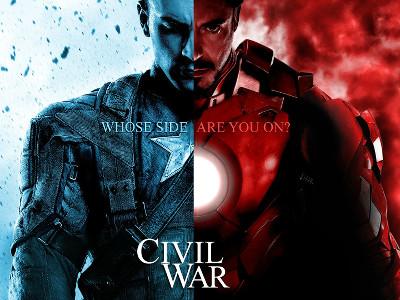 iron man-captain america