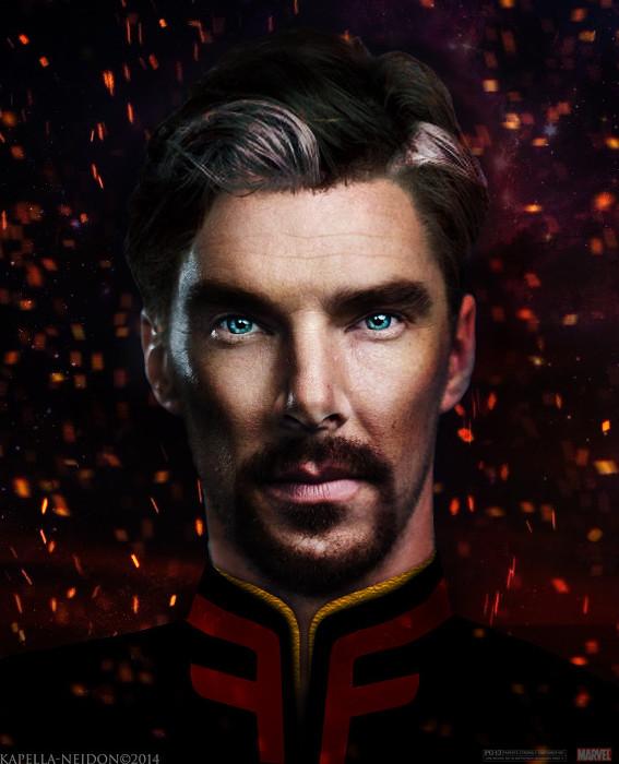Benedict Cumberbatch-Dr Strange-YlianaKapella-Neidon