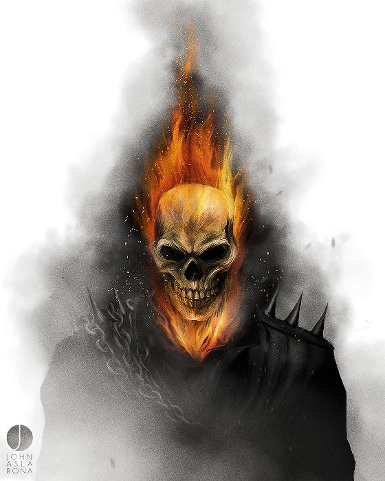 John Aslarona-Ghost Rider