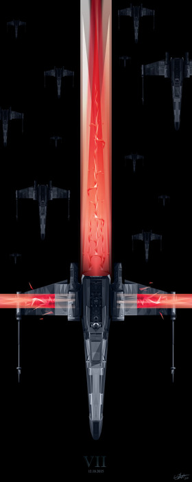 Orlando Arocena - Star Wars VII
