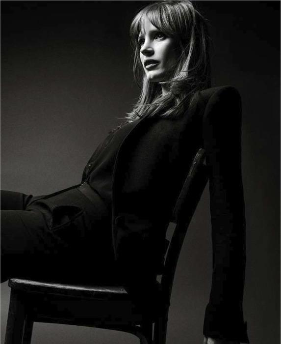 Jessica Chastain - Le Monde Magazine