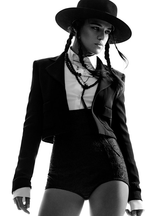 Michelle Rodriguez - Interview Magazine1