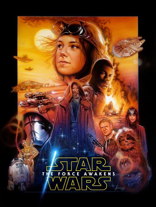 Star Wars VII - Drew Struzan