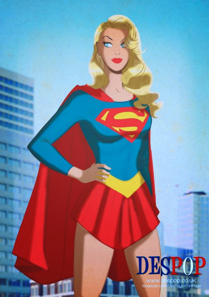 Super Girl-Des Taylor