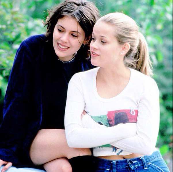 Alyssa Milano - Reese Witherspoon