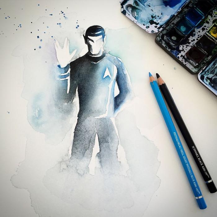 Spock - Blule