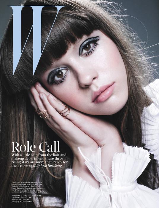 Mia Goth - W Magazine