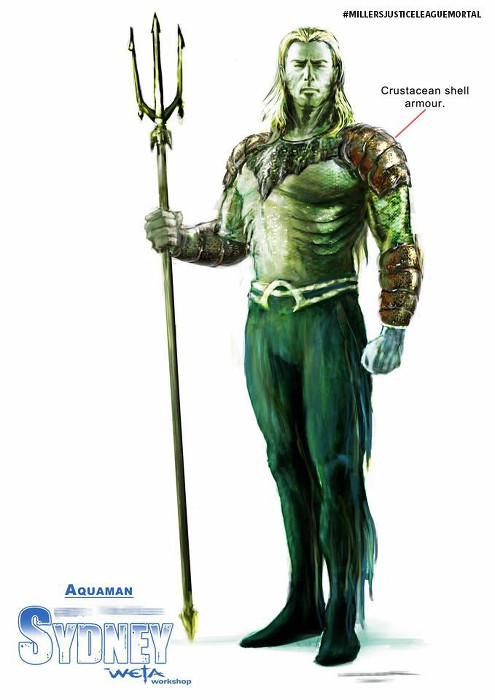 DC Comics - Aquaman - George Miller