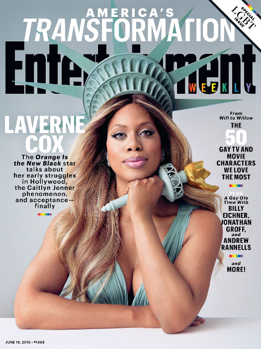 Laverne Cox - Entertainment Weekly