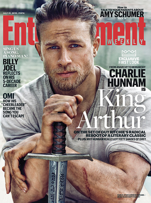 Charlie Hunnam - entertainement weekly