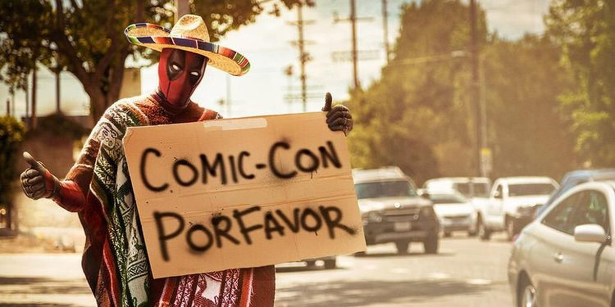 deadpool comic con
