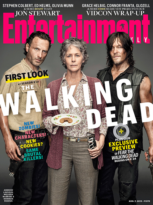 the walking dead - entertainement weekly