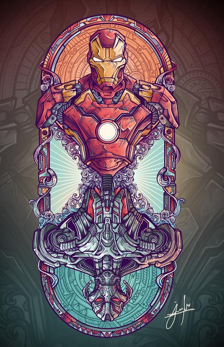 Iron Man - Ultron - jml2art
