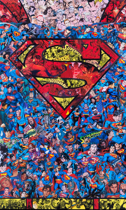 Superman - M. Garcin