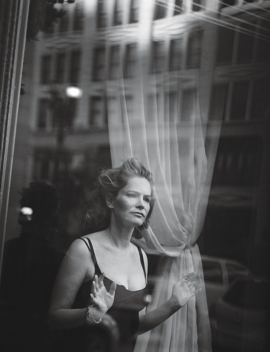 Jennifer Jason Leigh - Peter Lindbergh - W Magazine
