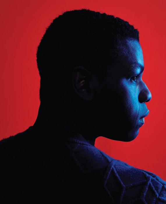 John Boyega - Backstage2