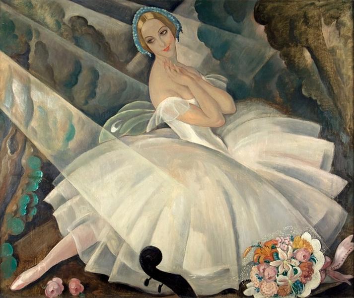 Ulla Poulsen in the ballet Chopiniana