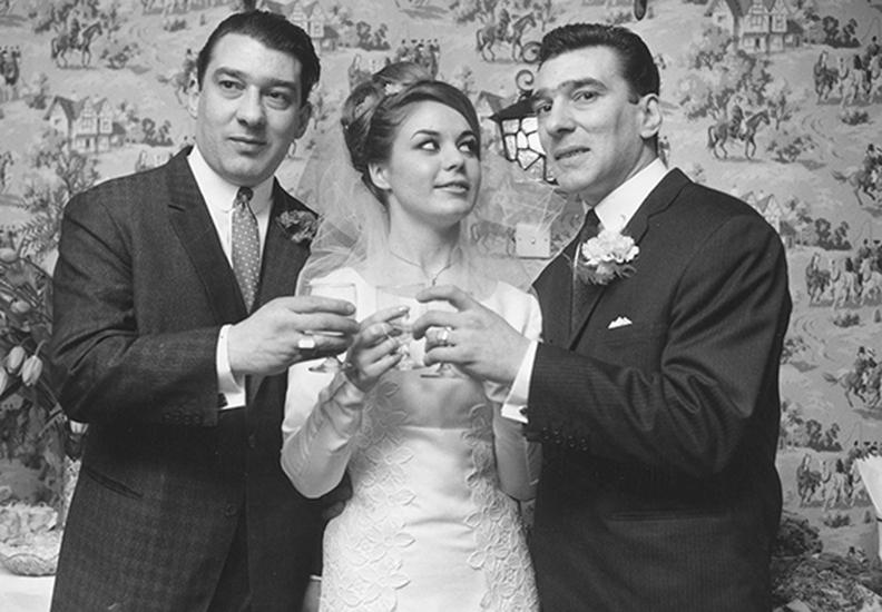 Ron Kray, Frances Shea et Reggie Kray