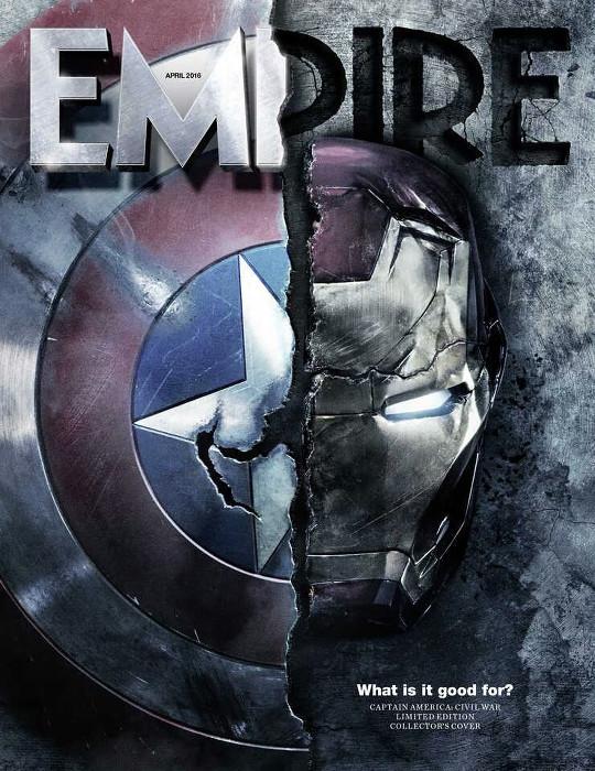 Captain America - civil war - empire magazine