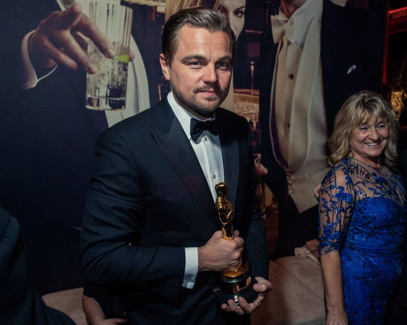 Leonardo Dicaprio Oscar Mom