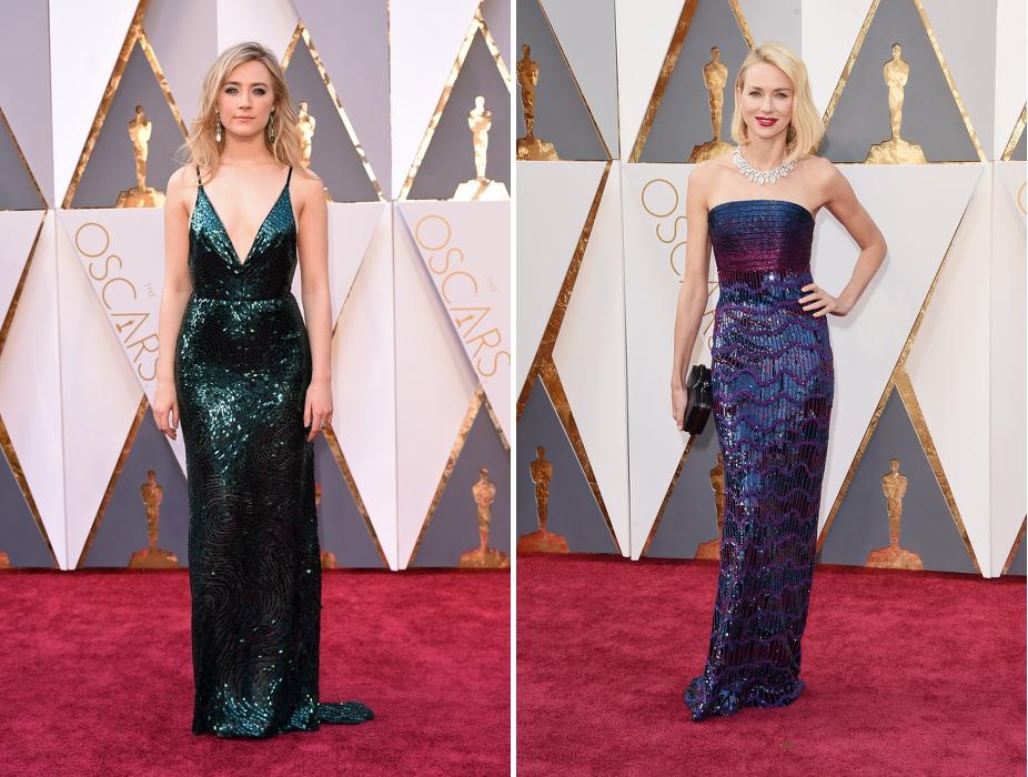 Oscars - saoirse ronan - naomi watts