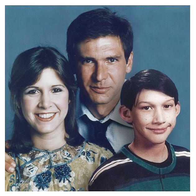star wars - solo family