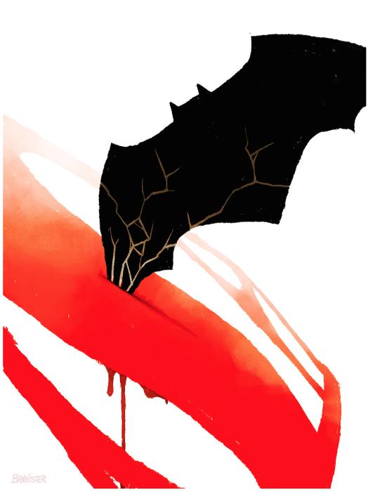 Batman V Superman - Bannister