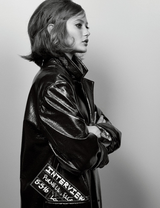 Ella Purnell - Interview Magazine