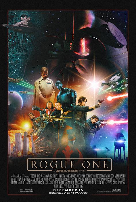Rogue One - MessyPandas
