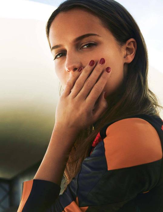Alicia Vikander - Nick Hudson - Marie Claire France